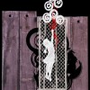 Manuela Favero_Omaggio a Banksy_Sezione Merletto a fuselli – Stile moderno_