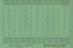 Disegno per sciarpa, 1906, Museo del Merletto di Burano