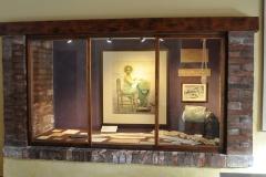 Area informativa al piano terra del Museo del Merletto di Burano