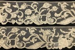Bordura, Punto Burano liscio, inizi XX sec, , Museo del Merletto di Burano